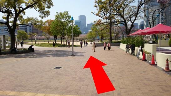 大阪市営地下鉄「扇町」駅からNEOSTEPへのアクセス方法6