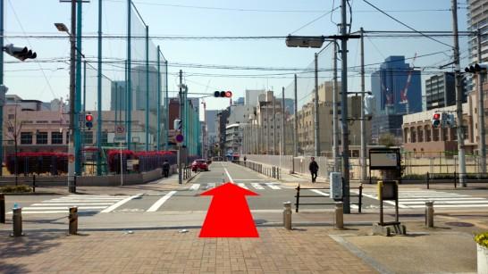 大阪市営地下鉄「扇町」駅からNEOSTEPへのアクセス方法8