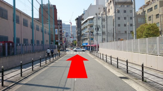 大阪市営地下鉄「扇町」駅からNEOSTEPへのアクセス方法9