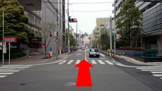大阪市営地下鉄「中崎町」駅1番出口からNEOSTEPへのアクセス方法6