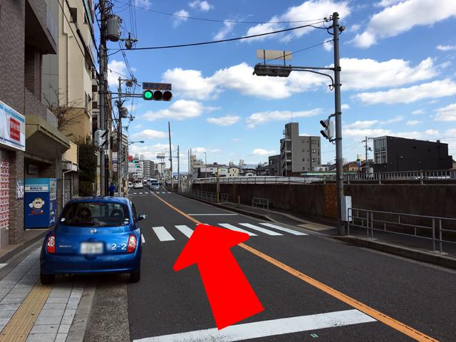 JR京橋駅からタイ語教室NEOSTEPへのアクセス方法03