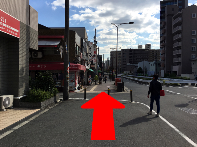 JR京橋駅からタイ語教室NEOSTEPへのアクセス方法08