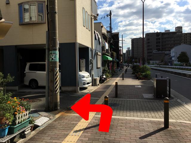 JR京橋駅からタイ語教室NEOSTEPへのアクセス方法09